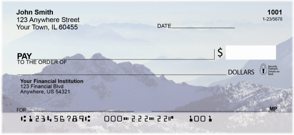 Mountain Views Personal Checks | EVC-17
