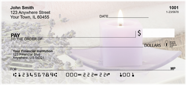 Zen Candles Checks | FLO-89