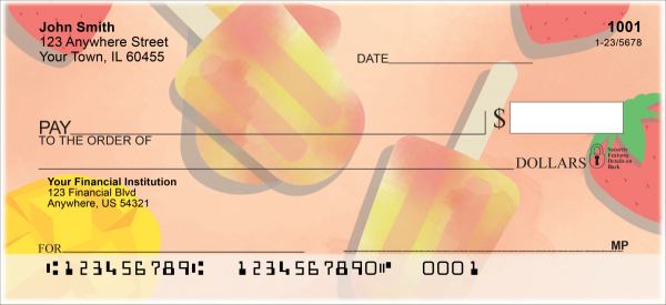 Tasty Treats Personal Checks | FOD-71