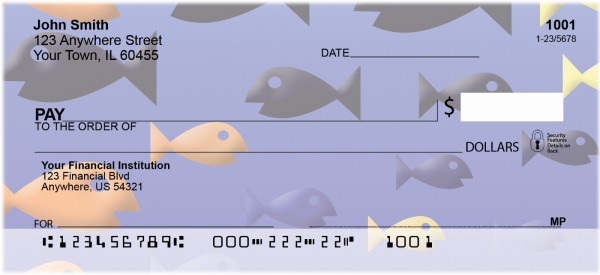 Fishies Personal Checks | GCA-92