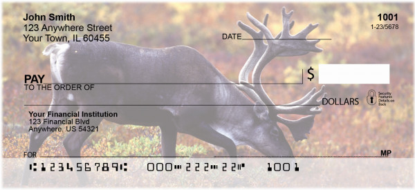 Caribou Personal Checks | GCB-37