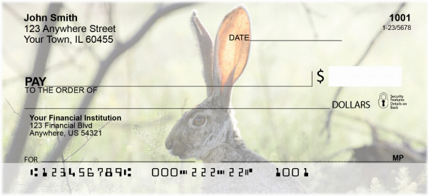 Rabbits Personal Checks | GCB-39
