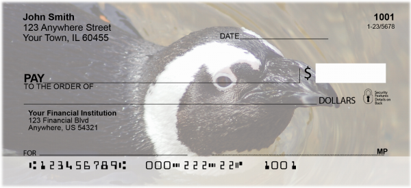 Penguins Personal Checks | GCS-14