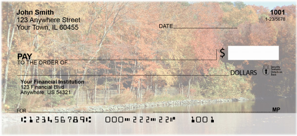 Streamside Reflections Personal Checks | GCS-21