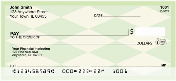 Argyle Personal Checks