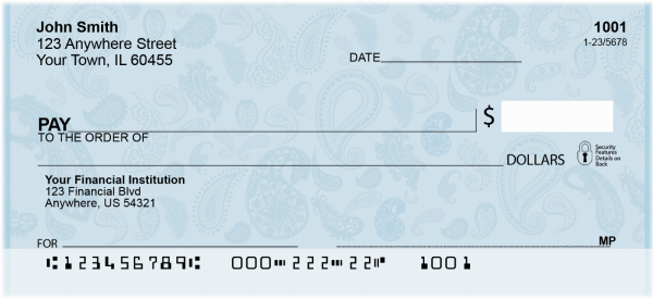 Going Retro Personal Checks | GEO-18