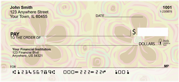 Hawaiian Hello Personal Checks | GEO-24