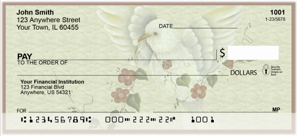 Tranquil Visitor Personal Checks by Lorrie Weber | JHS-02