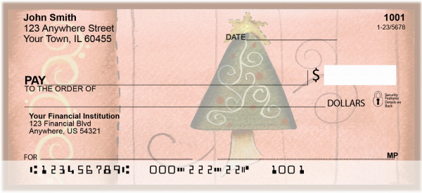 Swirl Tree & Stocking Checks by Lorrie Weber | JHS-16