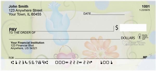 Color Me Happy Checks by Lorrie Weber | JHS-26