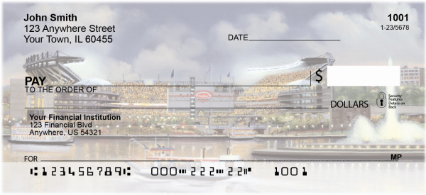 Pittsburgh Stadiums Personal Checks | LBC-06