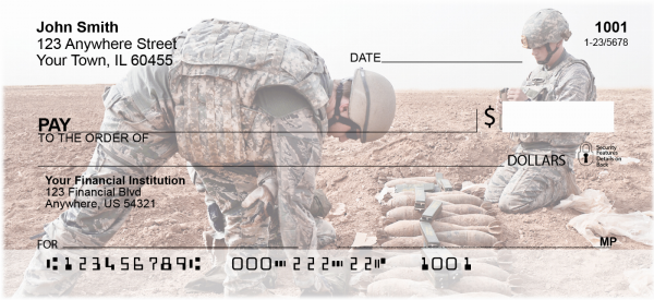 Desert Command Personal Checks | MIL-74