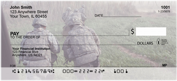 Soldiers in Action Personal Checks | MIL-79