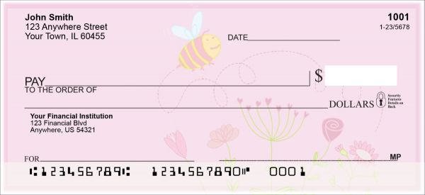 Bee Sweet Honey Personal Checks | NAT-82