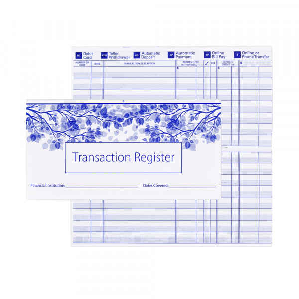 Check Register | PCR-001