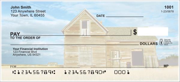 Barns on the Prairie Personal Checks