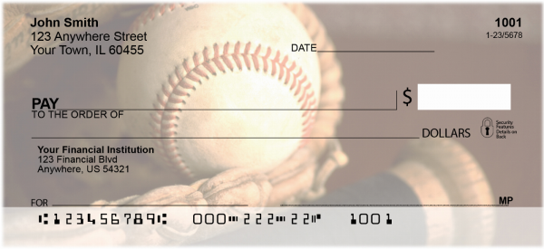 Baseball Personal Checks | SPO-04