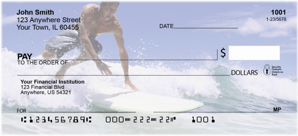 Surfs Up Personal Checks | SPO-88