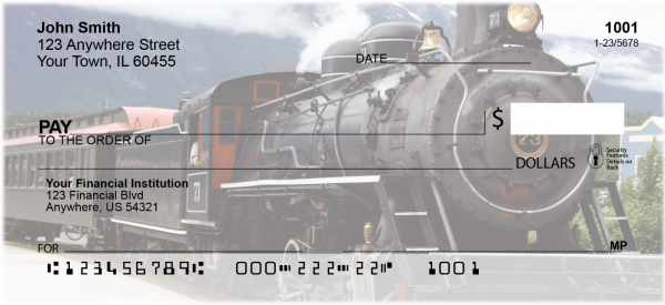 Steam Train Personal Checks | TRA-07