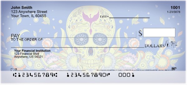 Day of the Dead Personal Checks | TVL-20