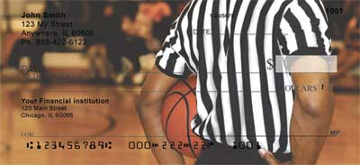 Basketball Personal Bank Checks