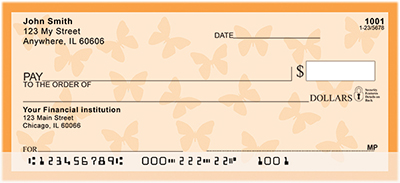 Butterfly Personal Checks