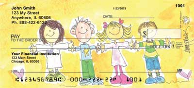 Alice's Angels Personal Checks