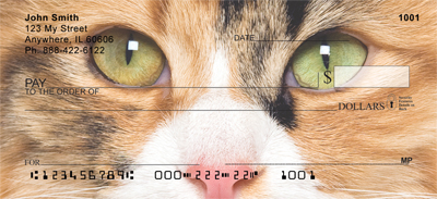 Calico Cat Checks - Calico Cats Personal Checks