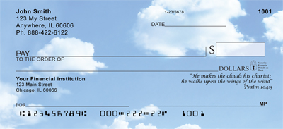 Heavenly Psalms Personal Checks