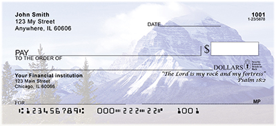 Breathtaking Scenic Scriptures Personal Checks