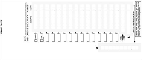 image about Regions Bank Deposit Slip Printable identify Unfastened Deposit Slips