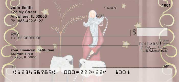 Keeper of the Flock Personal Checks by Lorrie Weber