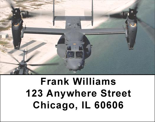 MV-22 Osprey Address Labels