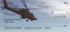 Helicopter Images Personal Checks