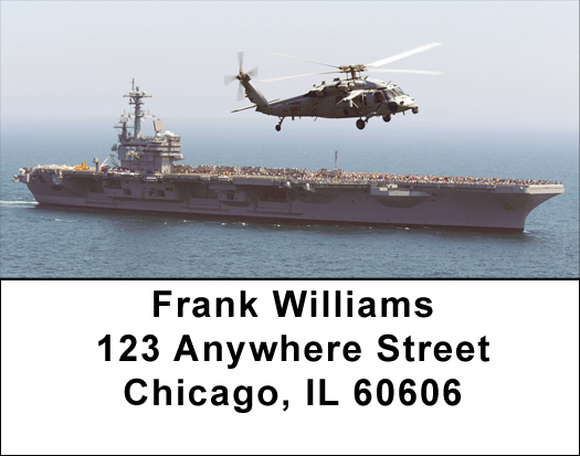Helicopters in Action Address Labels