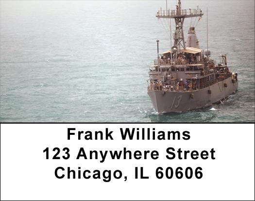 USS Dextrous Address Labels