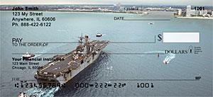 USS Iwo Jima Personal Checks