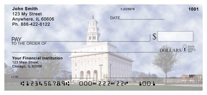 Navoo Temple Personal Checks