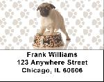 Pugs are Mischievous Address Labels