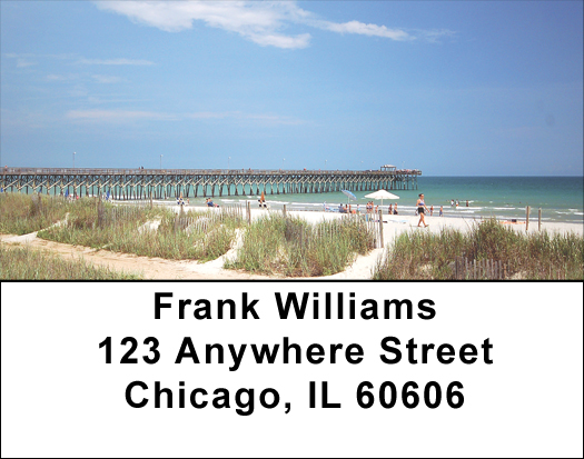 Beach Piers and Condos Address Labels