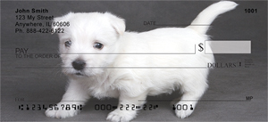 Westie Checks - West Highland Terrier Puppies Personal Checks