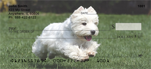 West Highland Terrier Bank Checks