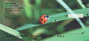 Ladybug Checks - Ladybugs on Leaves Personal Checks