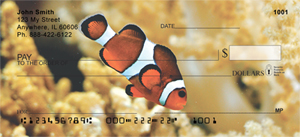 Clown Fish Personal Checks - Fish Checks