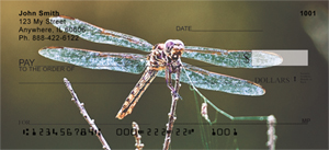 Dragonflies Personal Checks - Dragonfly Checks