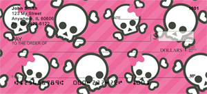 Skull Checks - Skulls and More Skulls Personal Checks