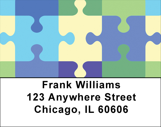 Jigsaw Puzzle Address Labels - Puzzle Labels