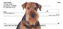 Airedale Checks - Airedale Personal Checks