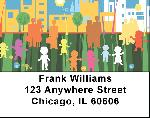City Kids Address Labels - City Kid Labels