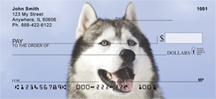 Siberian Husky Personal Checks - Huskies Checks